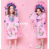 2019国潮新款影楼主题儿童摄影服装戏曲古装喜剧女孩写真拍照礼服