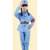 十一儿童小红军装演出服装女八路军服革命红军舞蹈军装表演摄影