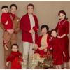 影楼新款全家福服装家庭装摄影中式一家六口中国风拍照旗袍礼服