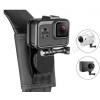GoPro Hero 3/4/5/6/运动相机配件/背包带背包夹固定器旋转摄影